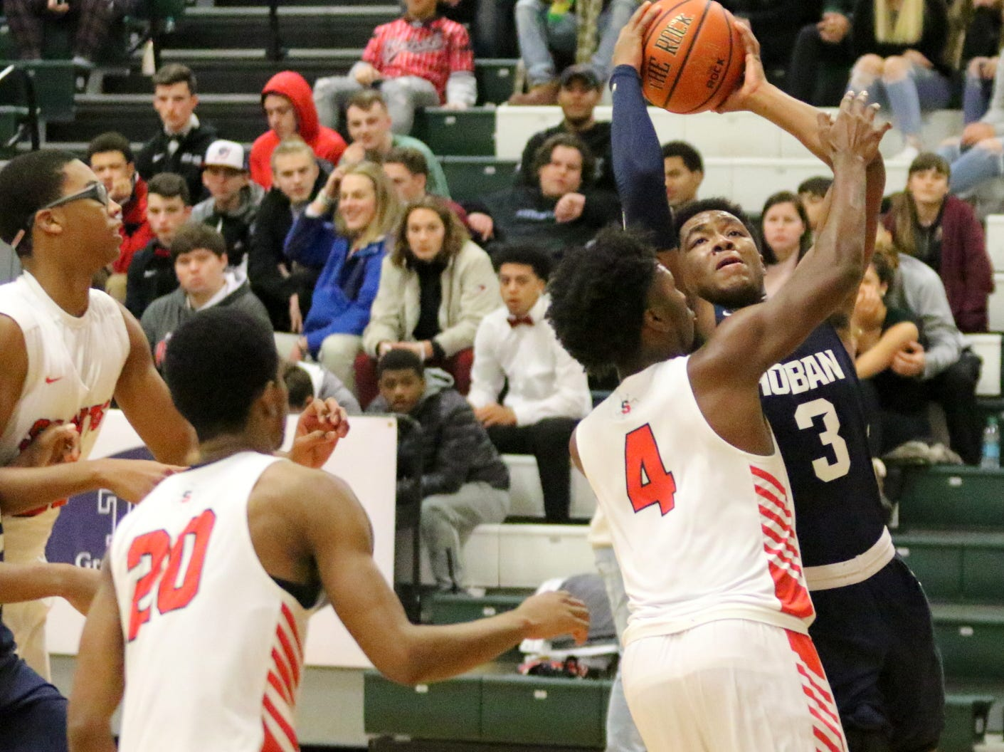 St. Stephens/St. Agnes was a 61-53 winner over Archbishop Hoban in a National Division semifinal at the Josh Palmer Fund Elmira Holiday Inn Classic on Dec. 29, 2018 at Elmira High School.