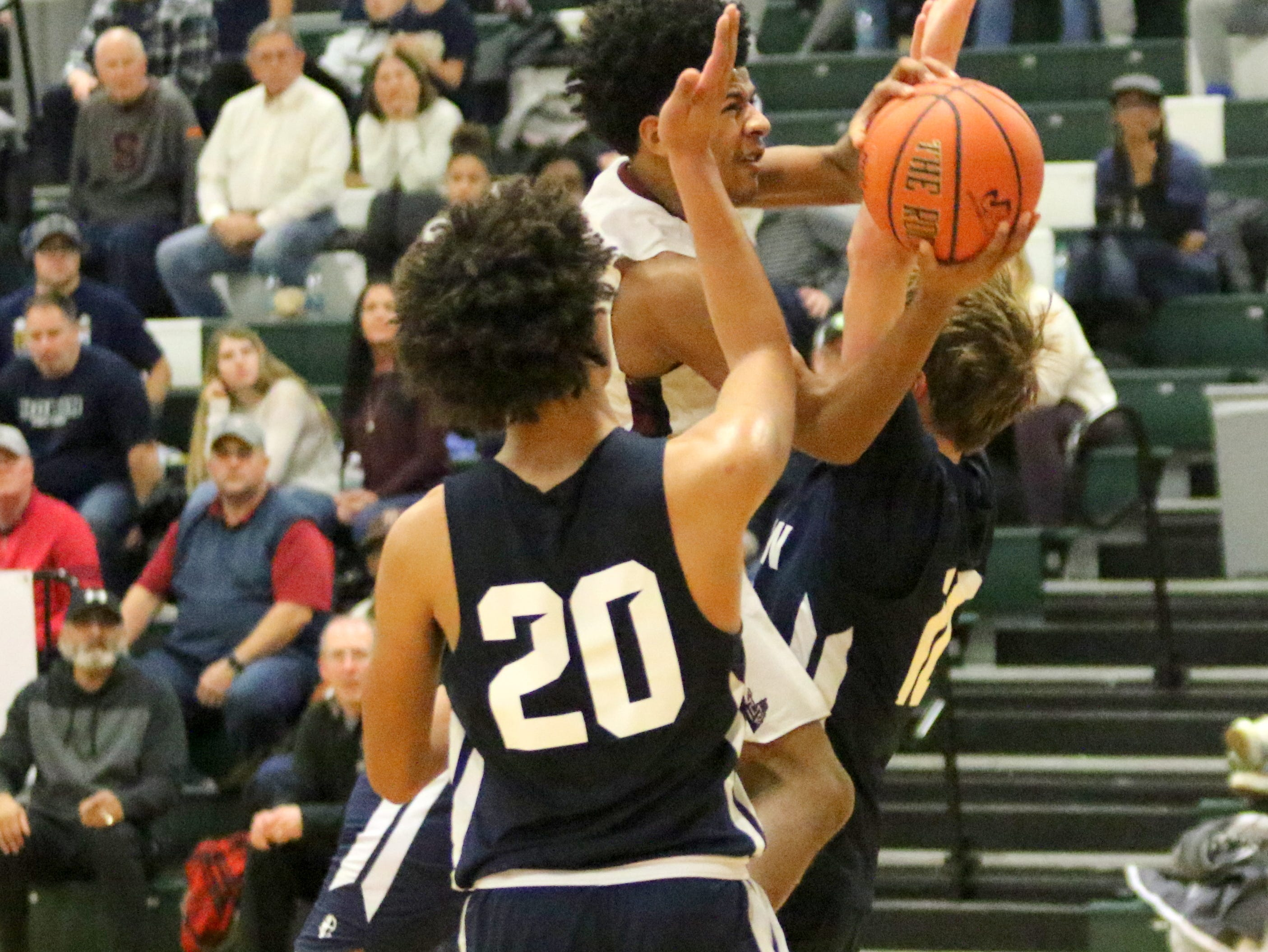 Archbishop Hoban was a 62-57 winner over Elmira in the boys third-place game in the National Division at the Josh Palmer Fund Elmira Holiday Inn Classic on Dec. 30, 2018 at Elmira High School.