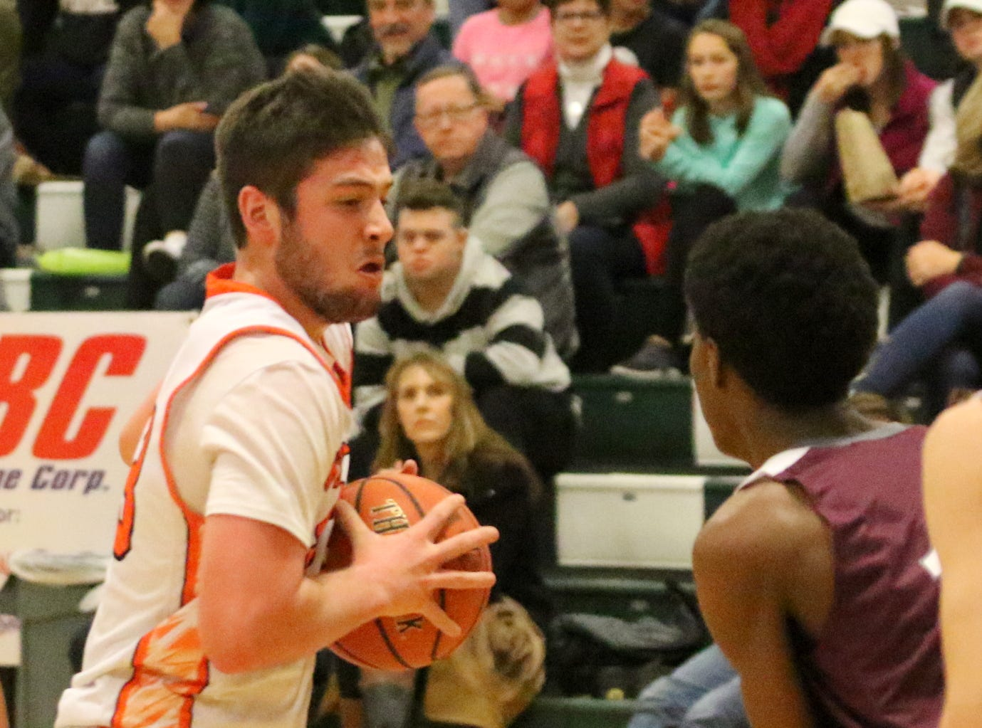 Johnson City was a 58-35 winner over Wellsville in the boys Regional Division 2 championship game at the Josh Palmer Fund Elmira Holiday Inn Classic on Dec. 30, 2018 at Elmira High School.