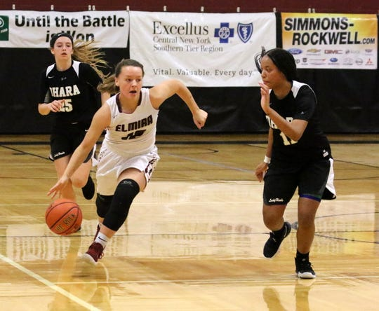 Cardinal O'Hara was a 74-69 winner over Elmira in a girls semifinal at the Josh Palmer Fund Elmira Holiday Inn Classic on Dec. 29, 2018 at Elmira High School.