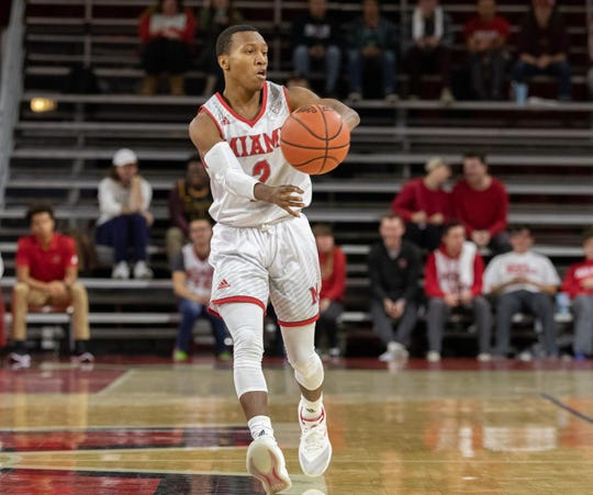 Miami of Ohio freshman Mekhi Lairy scored 14 second-half points in his first college start against the University of Evansville.