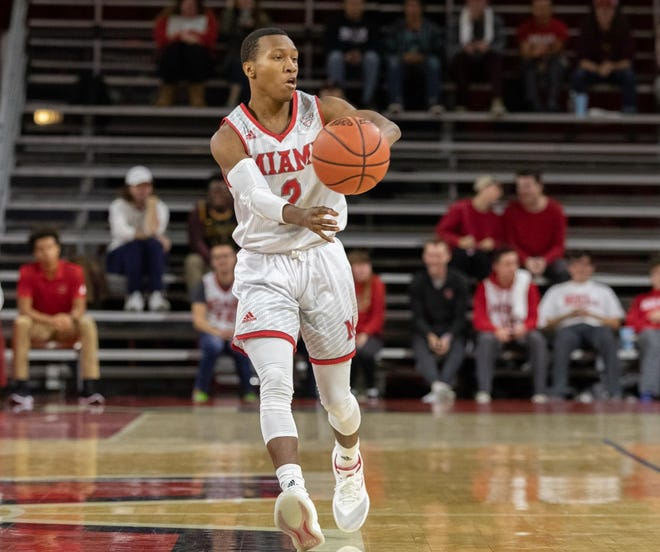 Miami of Ohio freshman Mekhi Lairy scored 14 second-half points in his first college start Sunday against the University of Evansville.