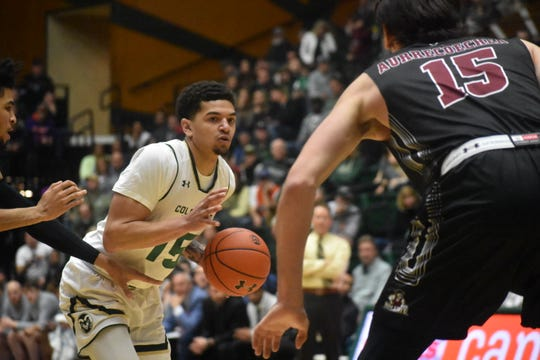 Guard Anthony Masinton-Bonner, the third-leading scorer on CSU's basketball team last season, is headed to Missouri State as a graduate transfer, he said Monday on Twitter.