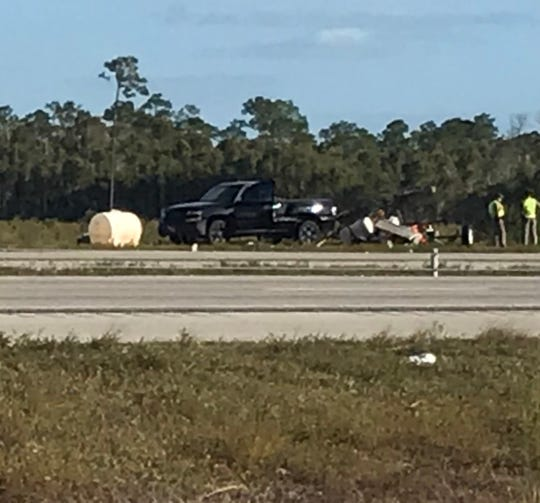 A fatal crash was reported Sunday on the northbound entrance ramp from Terminal Access Road to I-75.