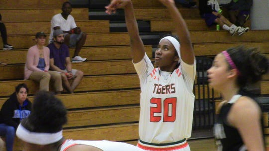 Dunbar sophomore Luxury Vance was named Queen of Palms' MVP after helping lead the Tigers to a 74-55 victory over Miami Christian in Saturday's championship game.