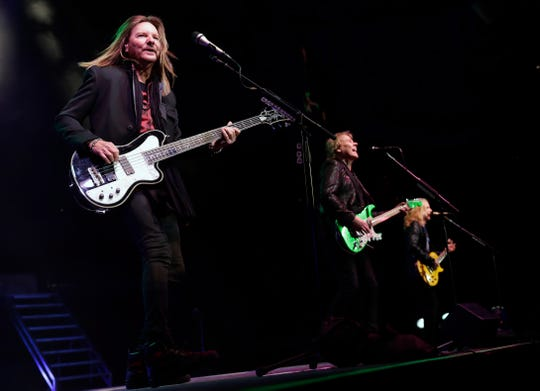 Styx performs Dec. 29, 2018 at the Resch Center in Ashwaubenon, Wis.