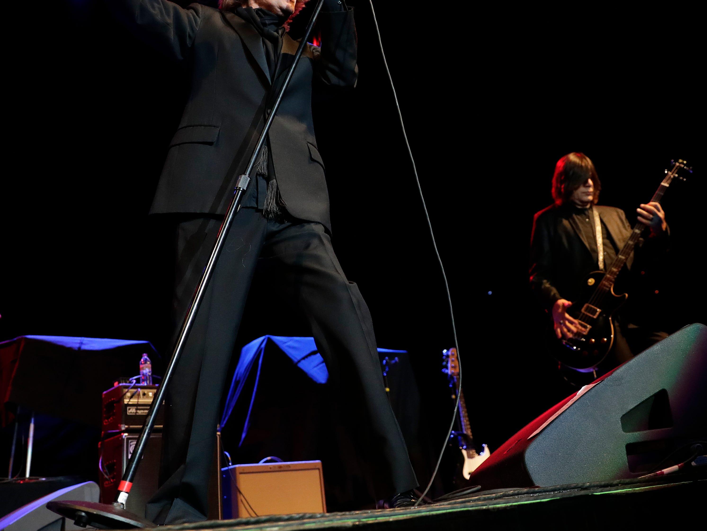 John Waite performs Dec. 29, 2018 at the Resch Center in Ashwaubenon, Wis.