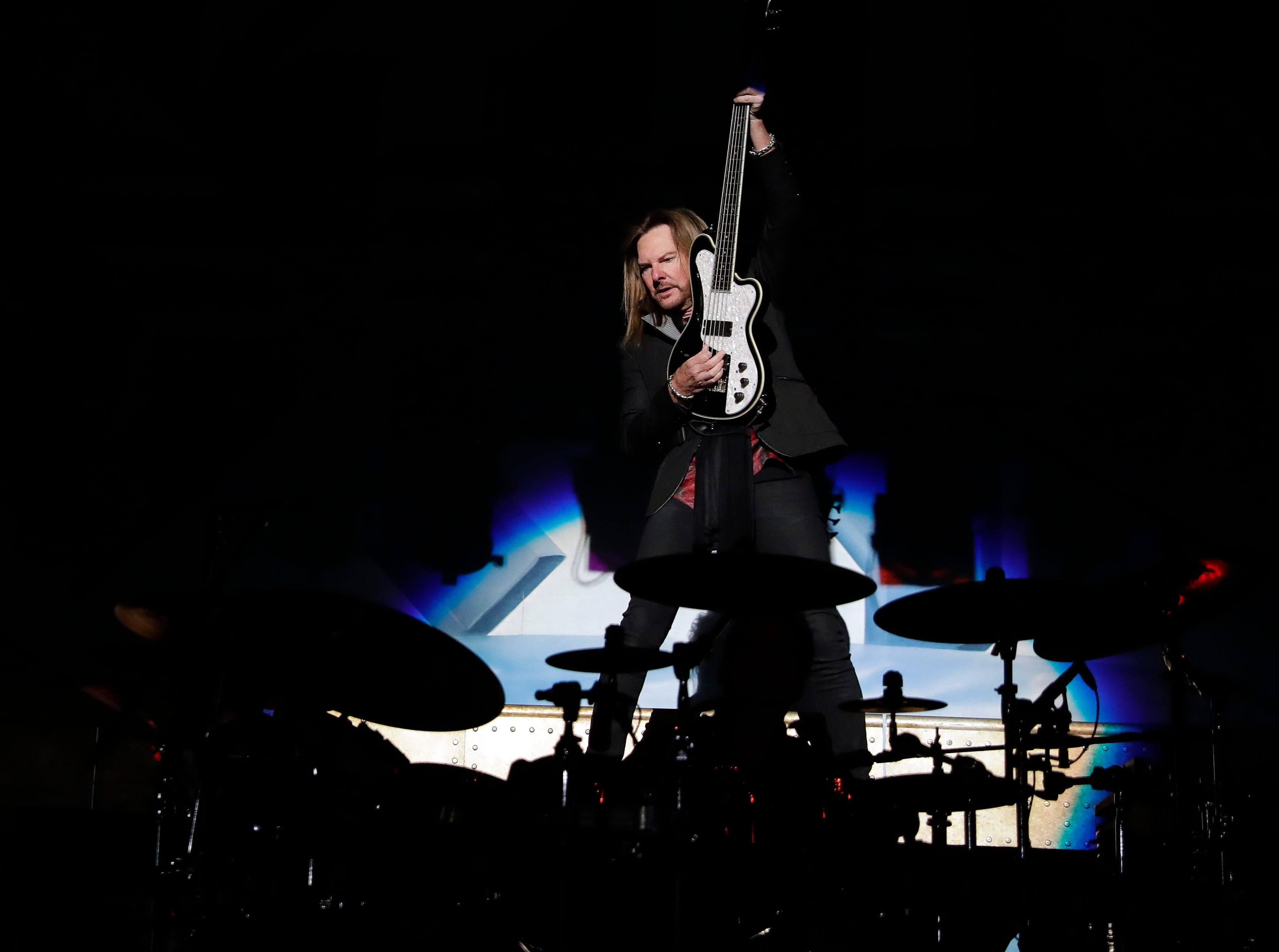 Ricky Phillips of Styx performs Dec. 29, 2018 at the Resch Center in Ashwaubenon, Wis.