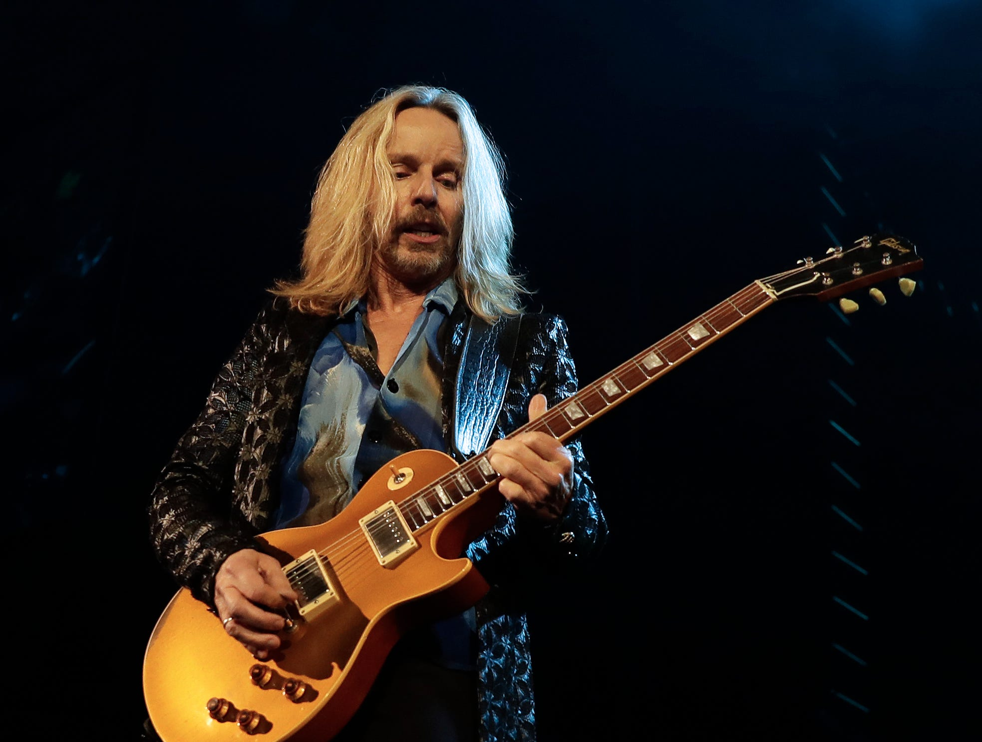 Tommy Shaw of Styx performs Dec. 29, 2018 at the Resch Center in Ashwaubenon, Wis.