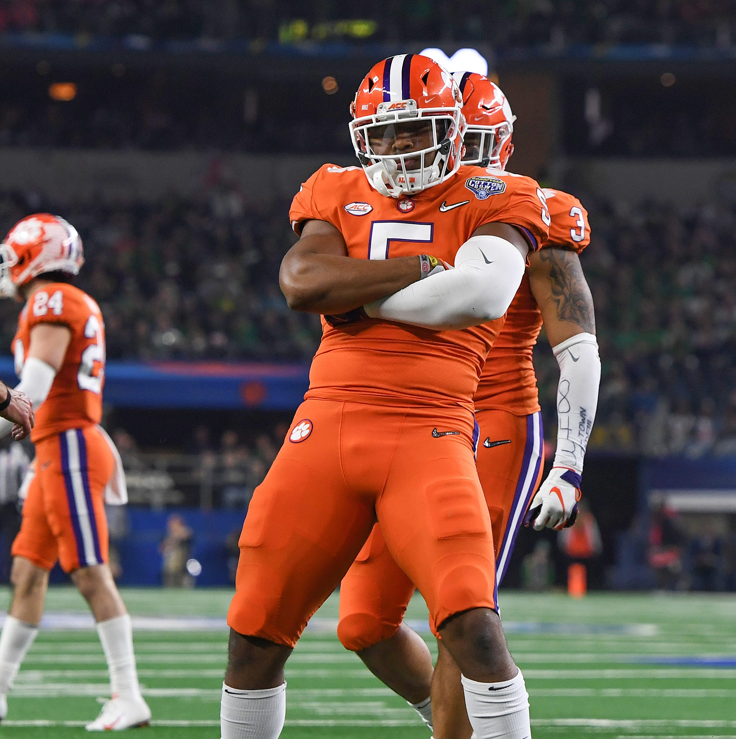 Under construction: Clemson football defense's rebuilding efforts will begin at linebacker