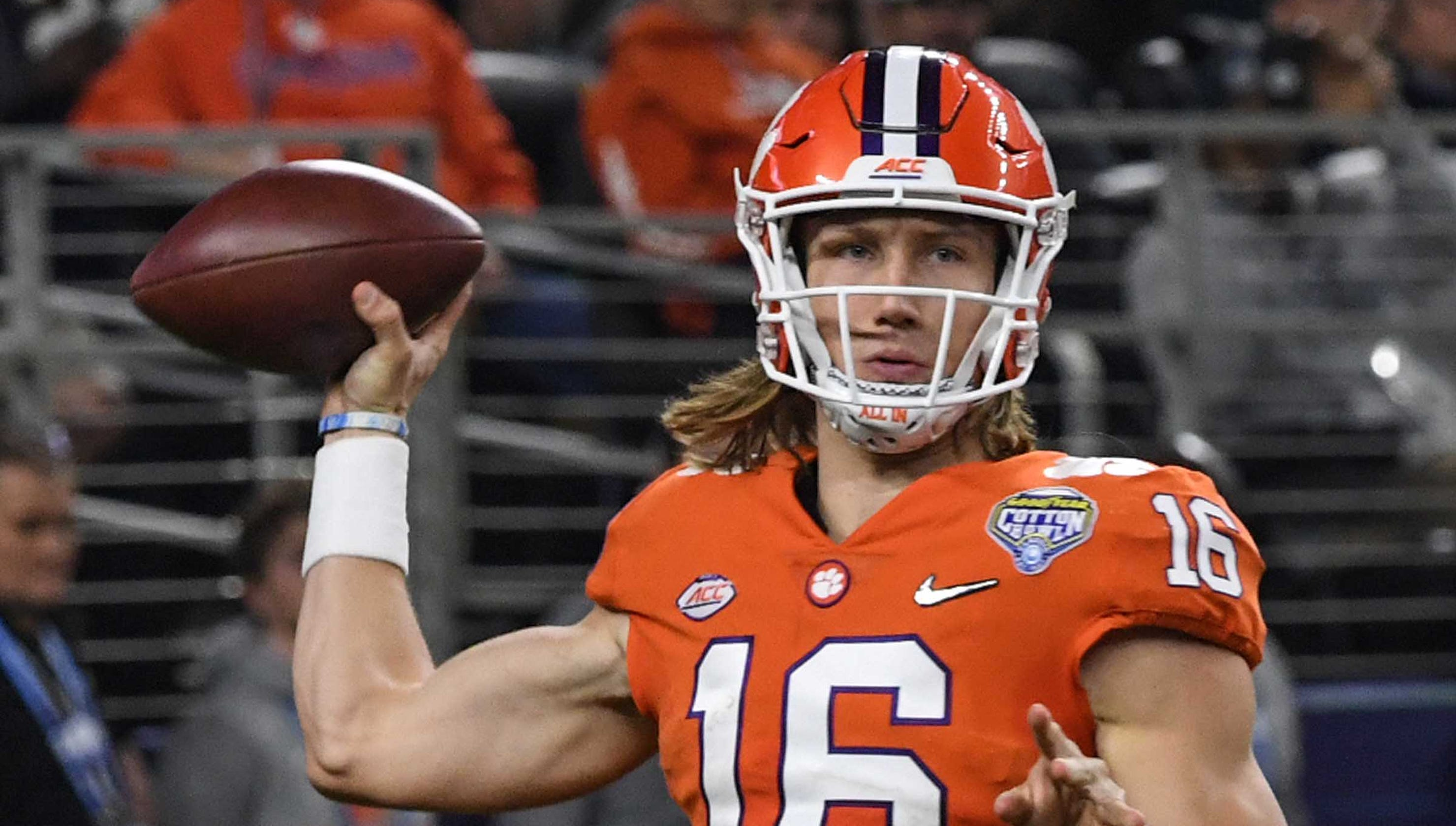 Clemson's Jeff and Brad Scott compare Trevor Lawrence to ...