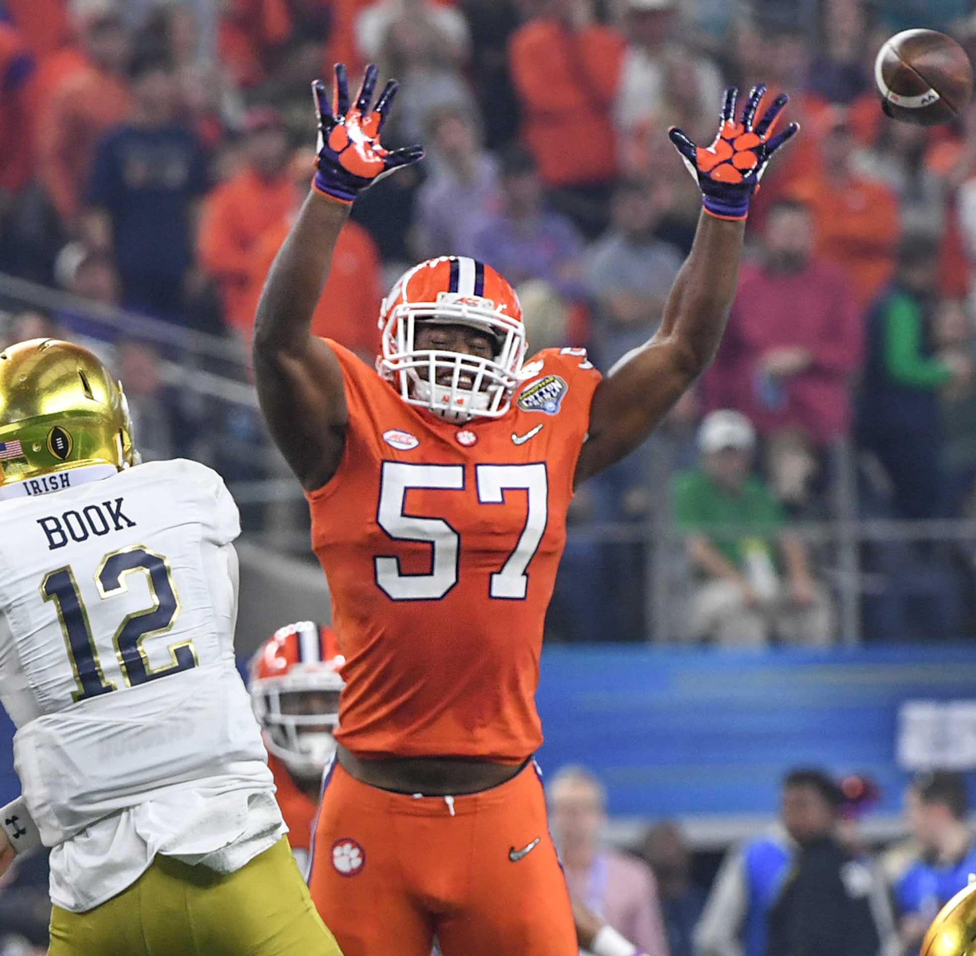 Clemson football loses quartet of junior football players to NFL Draft
