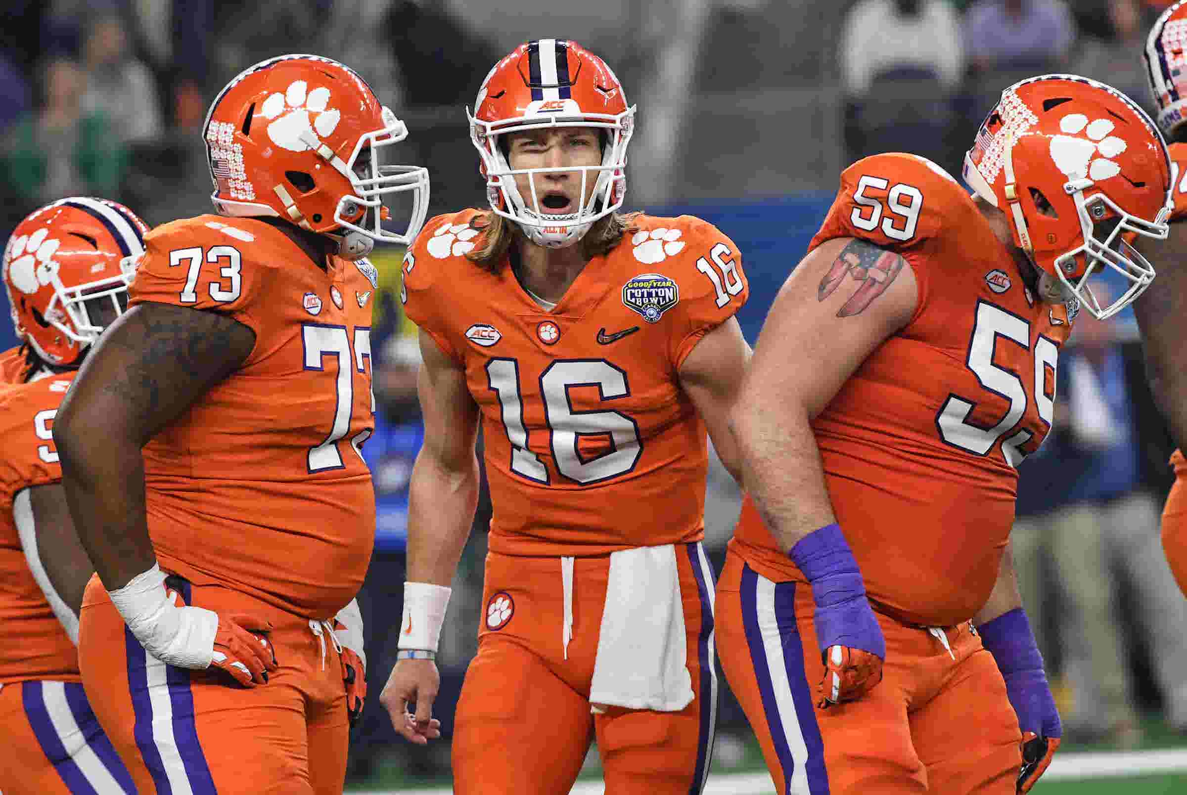 a2ab2e251 There is a science to Clemson QB Trevor Lawrence s spiral