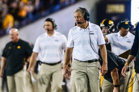 Kirk Ferentz is eyeing his first bowl win against an SEC opponent in 10 years, dating to the 2009 Outback Bowl against South Carolina. Iowa lost here to LSU in 2014 and Florida in 2017.