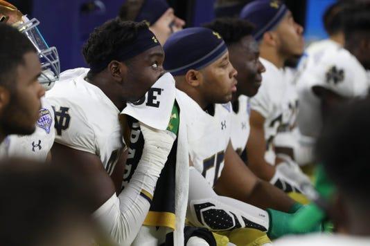 Ncaa Football College Football Playoff Semifinal Cotton Bowl Notre Dame Vs Clemson