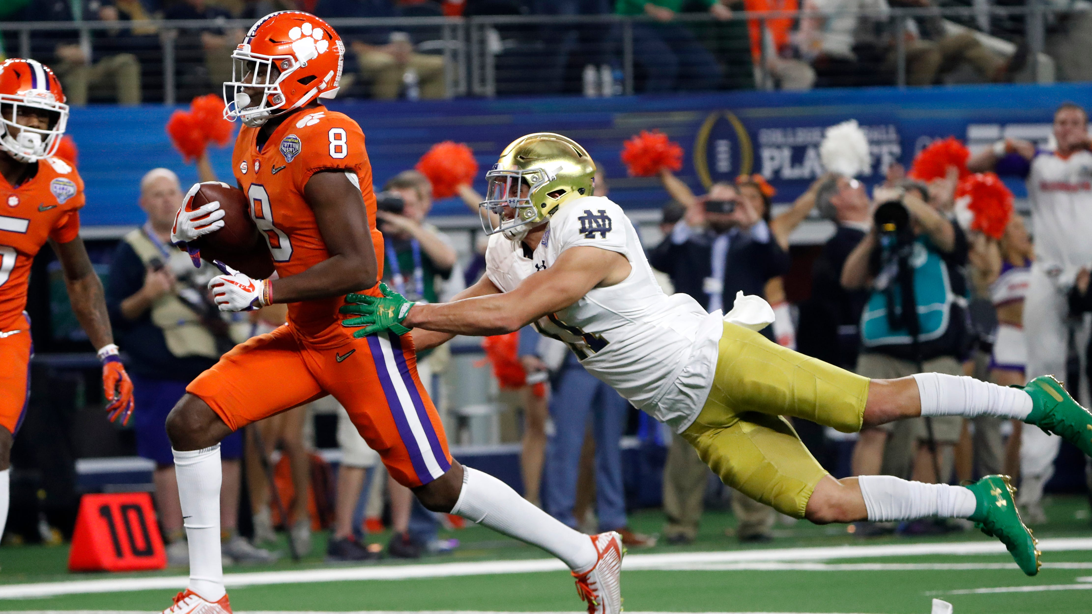 Notre Dame S 30 3 Playoff Loss To Clemson Looked Familiar Didn T It