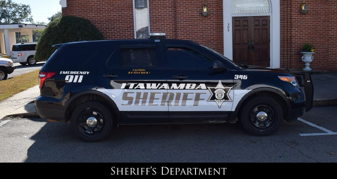 An Itawamba County Sheriff's vehicle is shown in this photo.