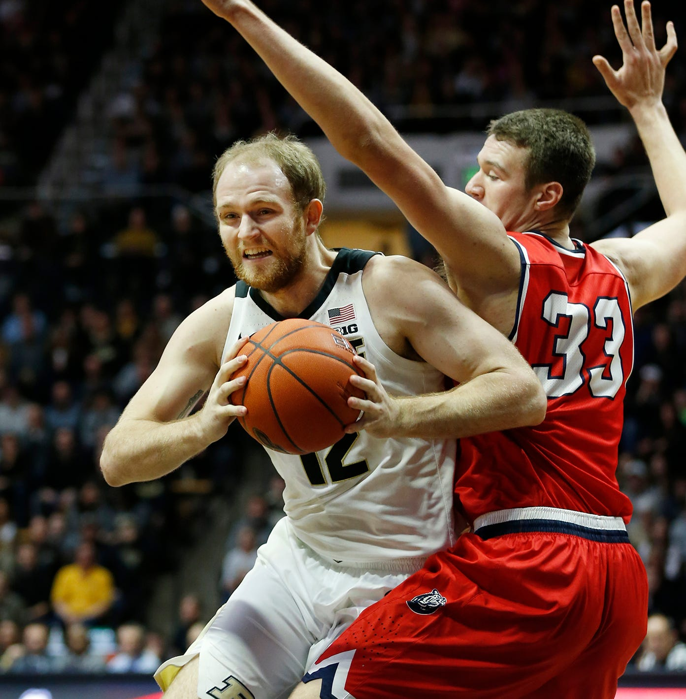 Purdue basketball's Evan Boudreaux took unexpected path to first NCAA Tournament