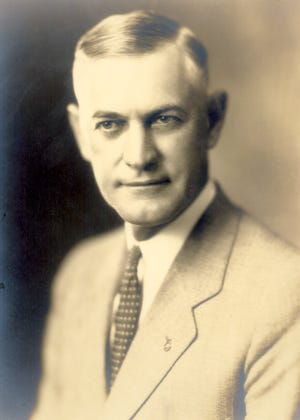 Harry G. Leslie rose through the Indiana political ranks to attain the governorship in the 1928 election.