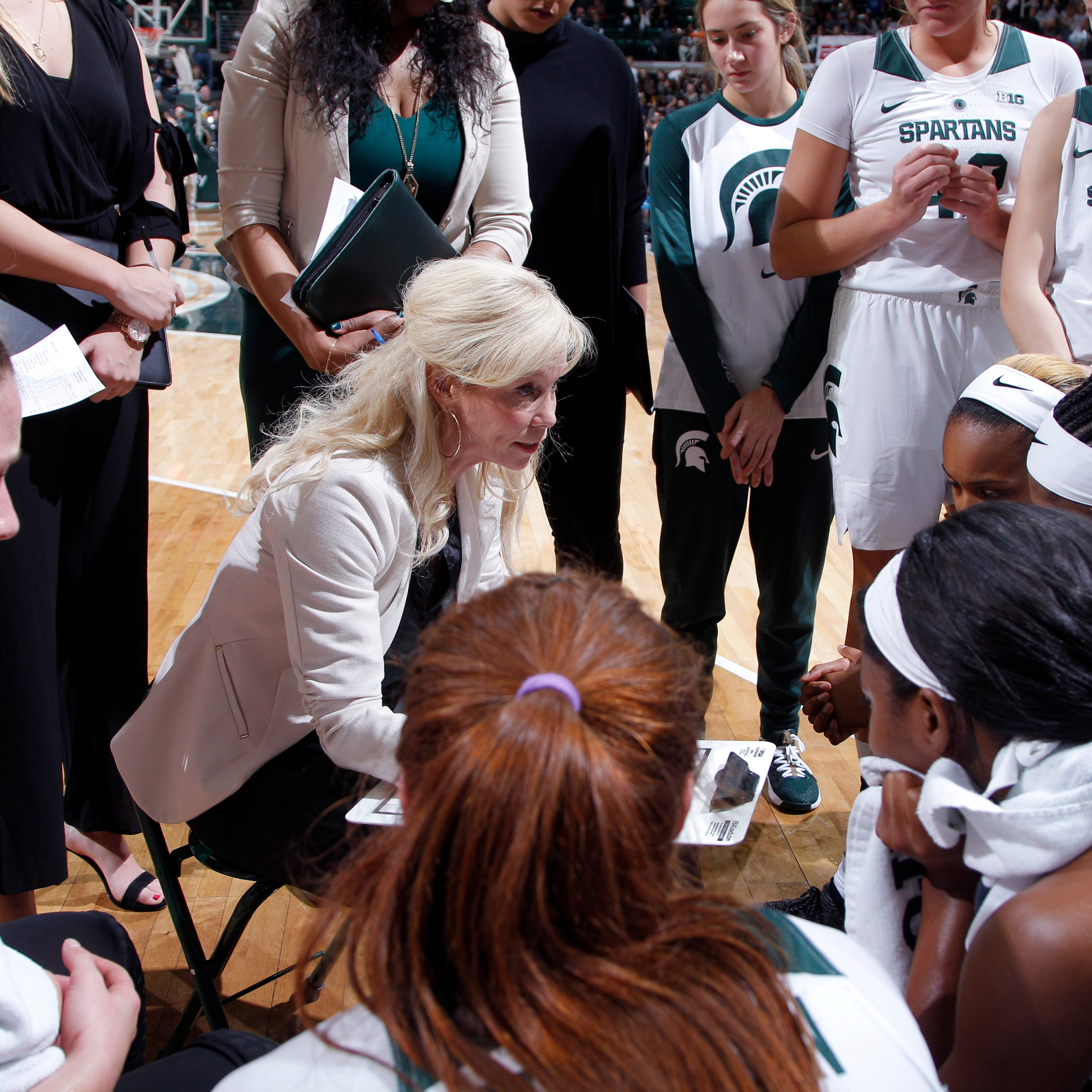 Michigan State women's hoops gets No. 9 seed, plays Central Michigan in NCAA tournament