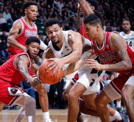 michigan state basketball throttles northern illinois 3 quick takes