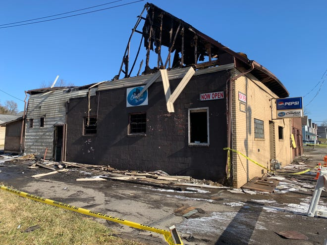 The building that housed a Mansfield bar, the Comfort Zone 419, was considered to be a total loss following a fire in the early hours of Dec. 30, 2018.