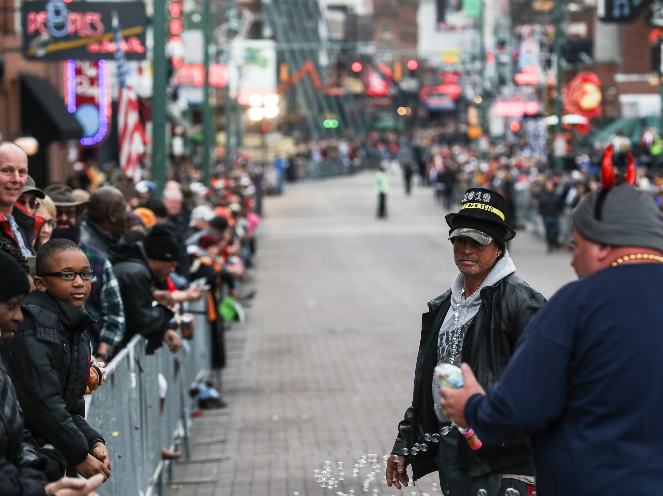December 30 2018 - Scenes from the Annual Liberty Bowl Parade & Pep Rally on Sunday. On Monday the Oklahoma State Cowboys and Missouri Tigers play in the 2018 AutoZone Liberty Bowl.