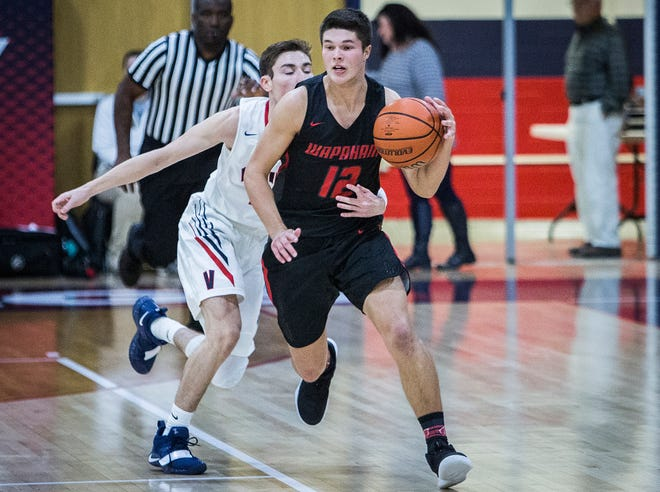 Wapahani's Drew Luce was second in Delaware County at 14.6 points per game.