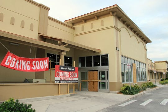 Lucky's Market is targeted to open in spring 2019 in the Promenade at Naples Centre on the corner of Naples Bouelvard and Airport-Pulling Road. Lucky's has a second North Naples location planned to later at Wiggins Pass Road and U.S. 41 North.