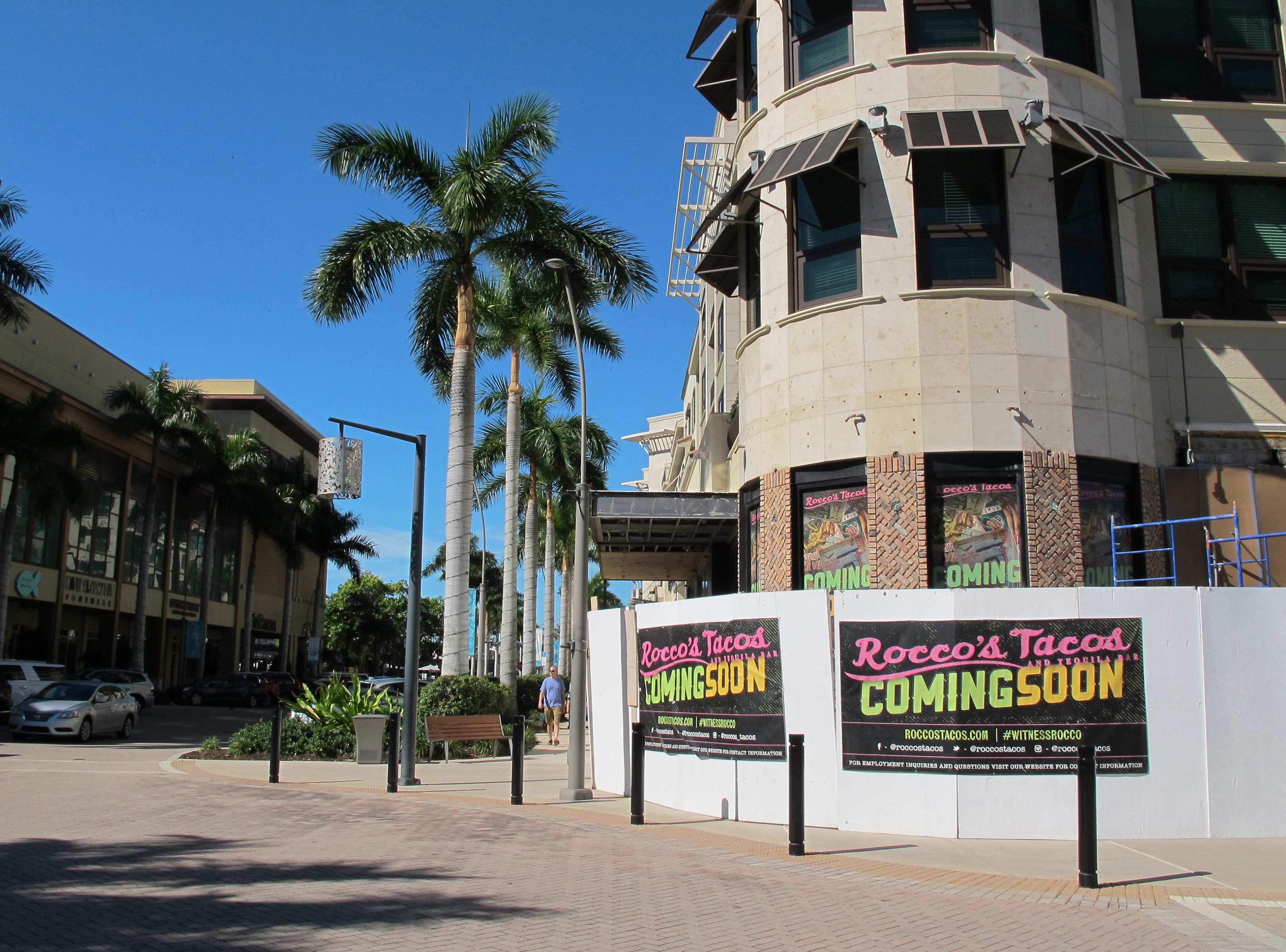 Coming to the former spot of Masa Mexican restaurant in Mercato, Florida-based Rocco's Tacos & Tequila Bar is targeted to open in mid-January in the North Naples mixed-use center.