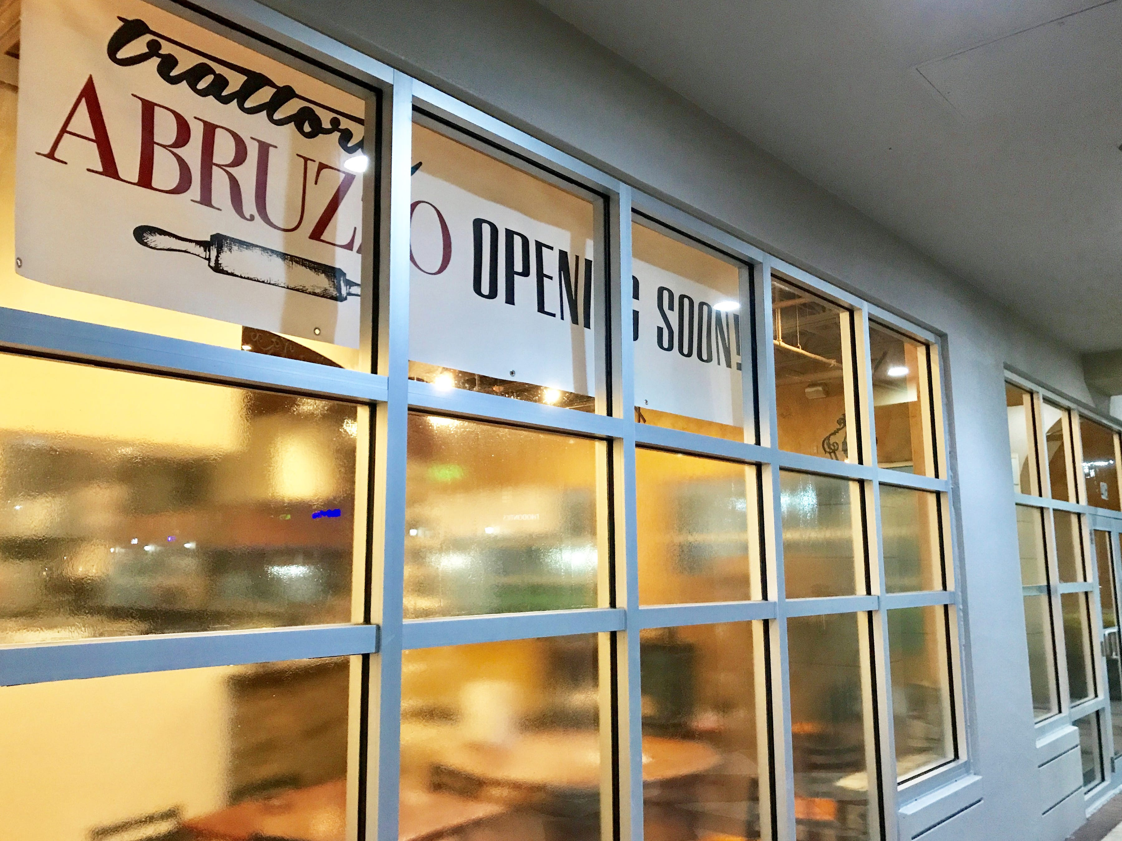 The second location of Trattoria Abruzzo is expected to open in January 2019 in the former space of Cafe Alfredo at Galleria Shoppes at Vanderbilt in North Naples.