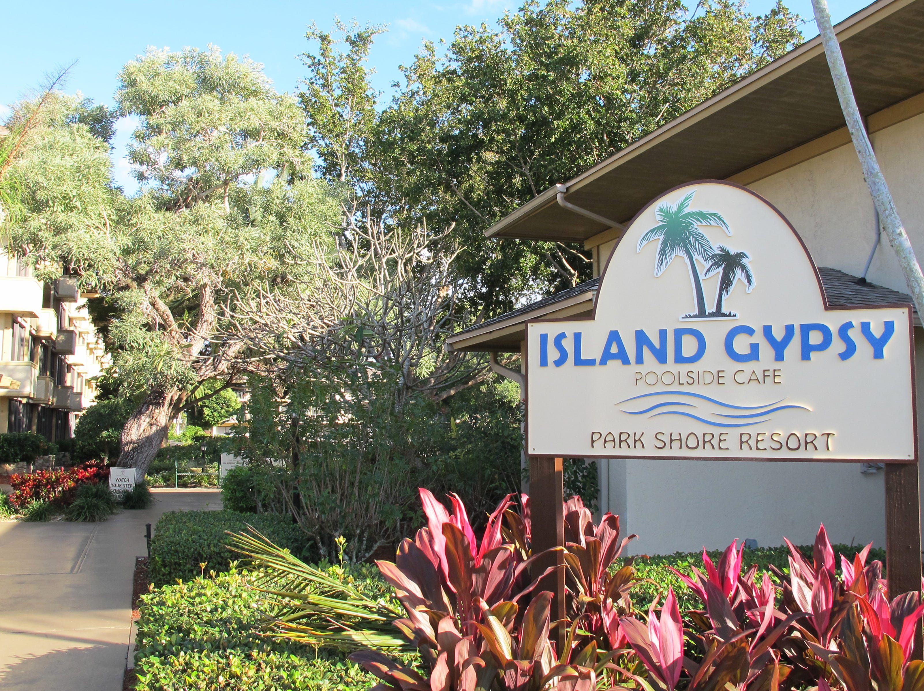 The new Island Gypsy Poolside Cafe is targeted to open in January 2019 in a space that most recently had been Pate's Island Club at Park Shore Resort in Naples.