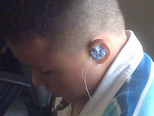 Jacob Allen had to wear earplugs for a time as a child because he had perforated eardrums, part of a series of medical issues that plagued Allen as a kid.