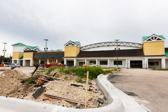 The Oakes Farms' Seed to Table store, shown under construction Aug. 1, 2018, in North Naples, is targeted to open Nov. 6, 2019.