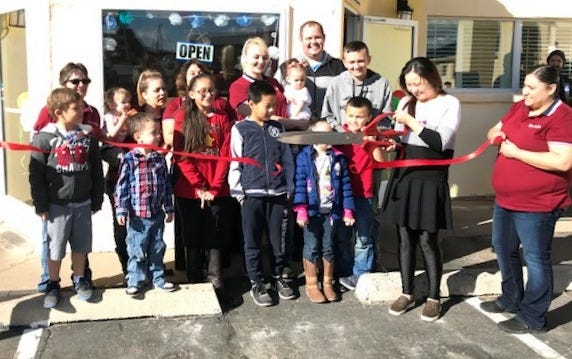 Yi's Garden held a grand opening on Friday, Nov. 30, 2018. Family and members of the Deming-Luna County Chamber of Commerce were on hand for the celebration to welcome the new business to Deming.Yi's Garden is located at Days Inn at 1601 E. Pine St. Their website is https://www.yis-garden.com/ and they offer breakfast, lunch and dinner. The menu consists of Asian, burgers, pasta, Mexican and American dishes. There is also a buffet daily with a wide variety of choices. Hours are 6 a.m. to 8 p.m., seven days a week. Call 575-546-0319.