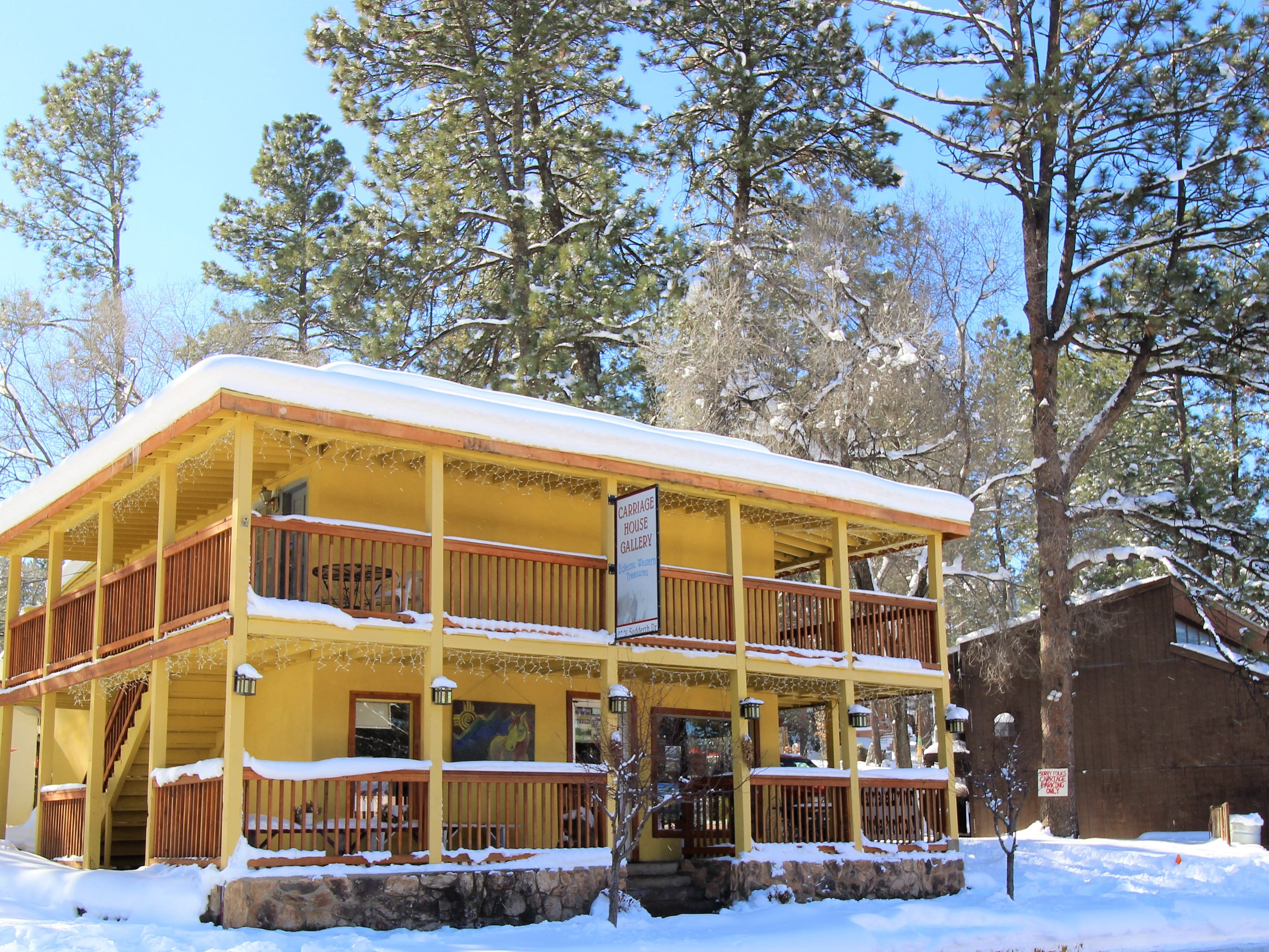 A winter wonderland has taken hold throughout the Village of Ruidoso creating spectacular sights to see.