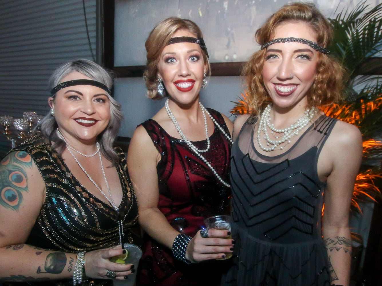 The Krewe of Gatsby Girls hosted its 5th annual Gatsby Girls Speakeasy Ball, featuring music by Ben Loftin and Matt Powell, at DeLuna Winery on Saturday, December 29, 2018. The event helped raise money for Capstone Adaptive Learning & Therapy Centers.