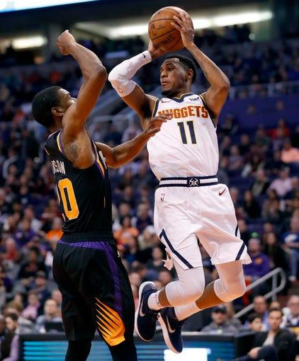 Denver Nuggets Guards: Phoenix Suns: Deandre Ayton Shines As Suns Fall To Denver