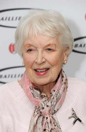 Actress June Whitfield attends the Oldie of the Year awards at Simpsons in the Strand on February 4, 2014 in London.