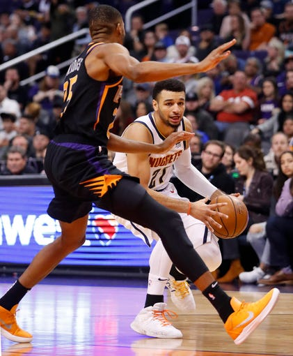Denver Nuggets Murray: Phoenix Suns: Kemba Walker Takes Over As Suns Lose To Hornets