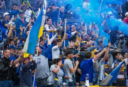 Reno 1868 FC won its first playoff game this past season.