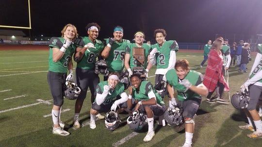 Fallon won the 3A football state championship.