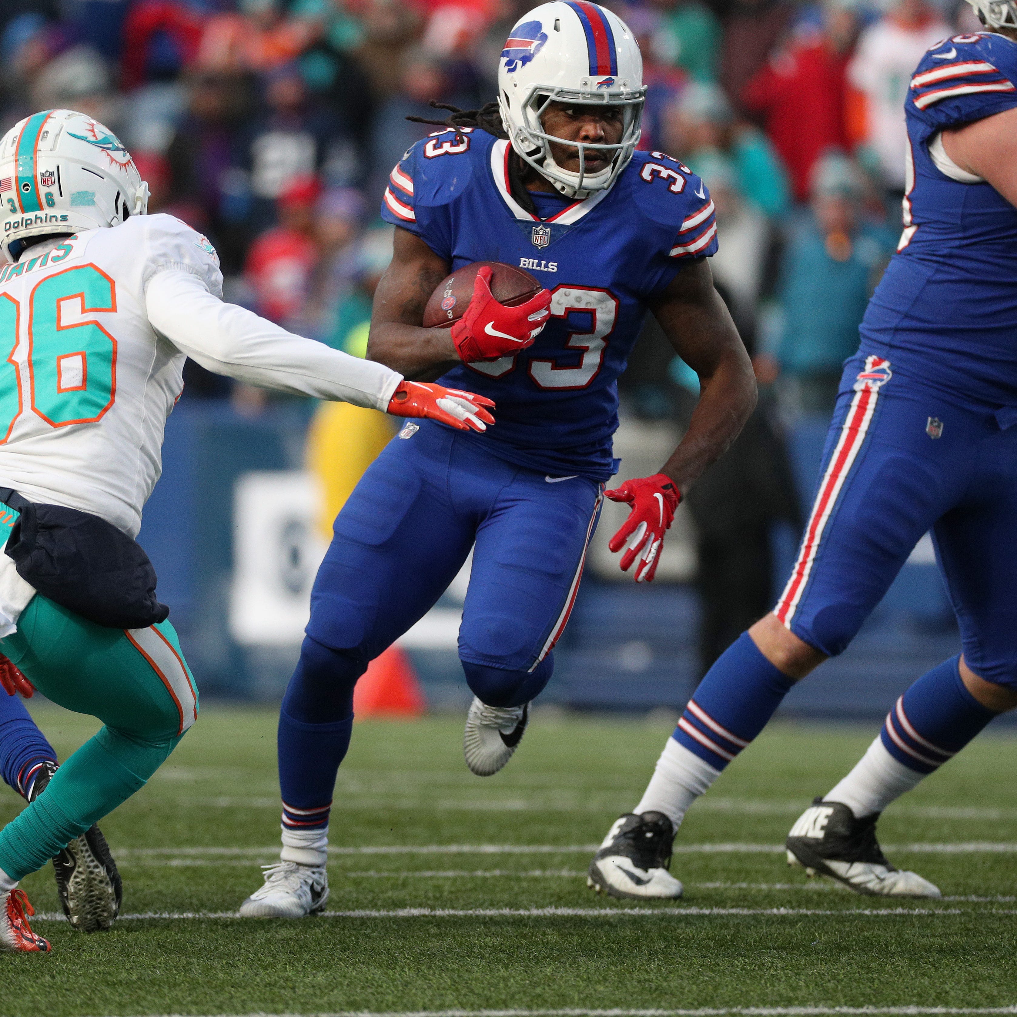Buffalo Bills release running back Chris Ivory
