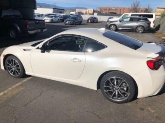 Subaru BRZ stolen