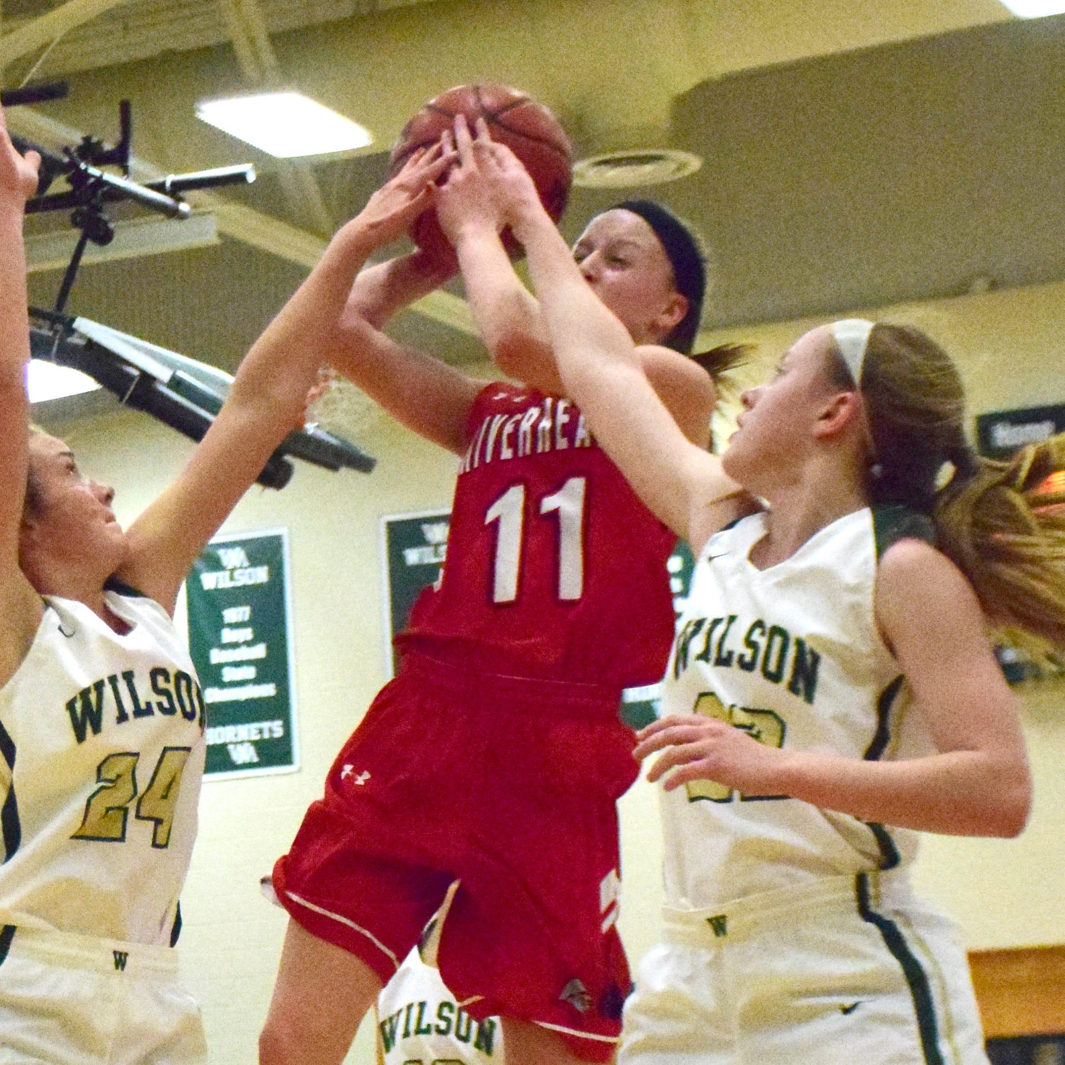 Riverheads' Sara Moore is big into basketball