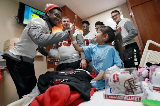 Main Stanford Visits Providence Childrens Hospital