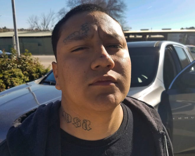This Saturday photo provided by the California Department of Corrections and Rehabilitation shows Shalom Mendoza after his capture in Paso Robles. The inmate escaped from San Quentin State Prison and was sought for nearly four days.
