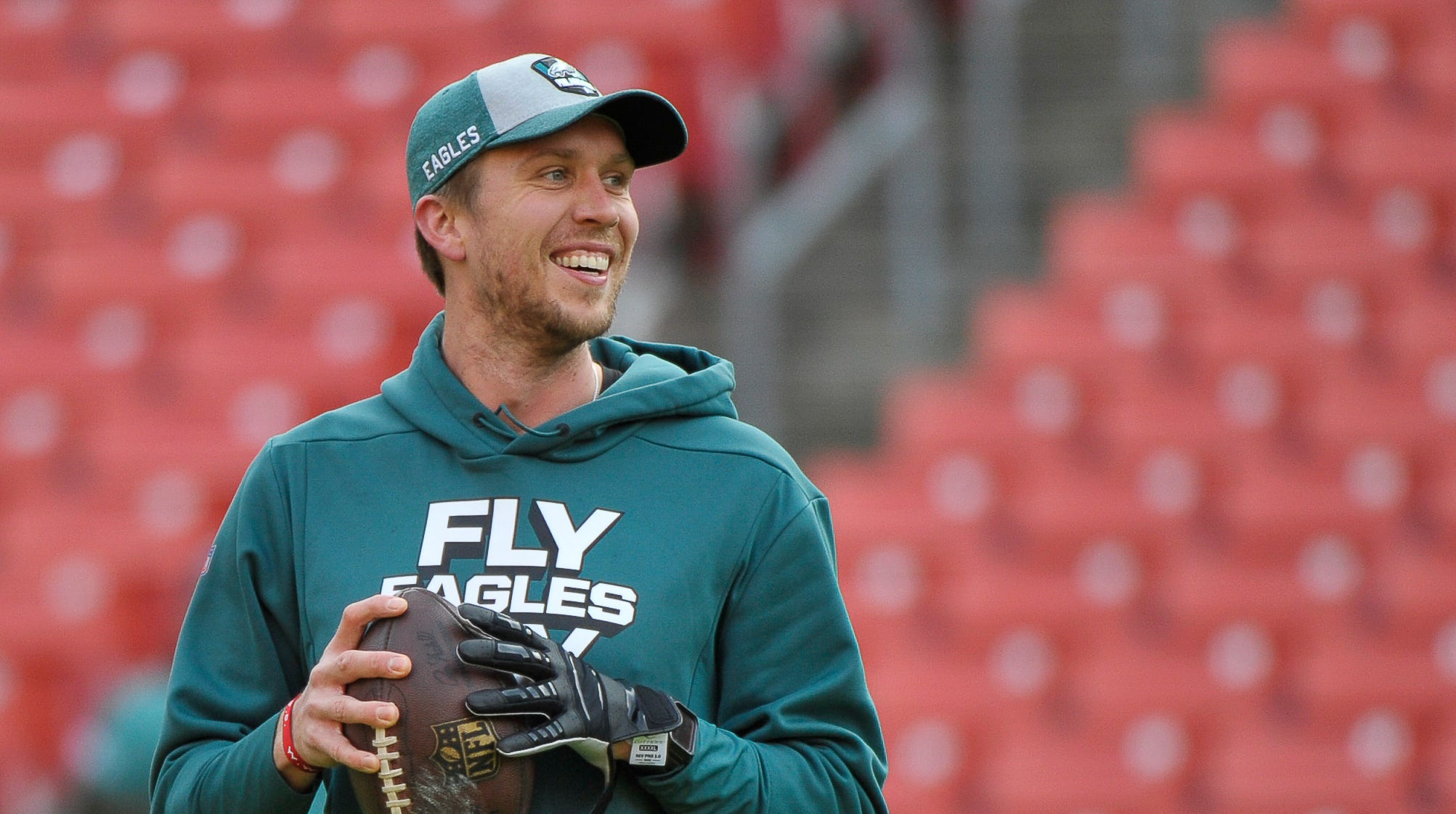 The NFL released the Eagles' preseason schedule, plus the team adds three players from the Alliance of American Football, including a quarterback.