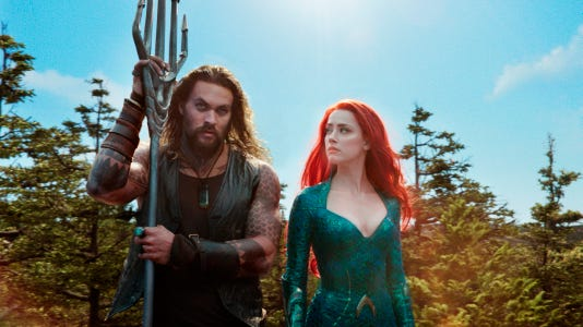 Aquaman' still rules, and others see a post-Christmas bump
