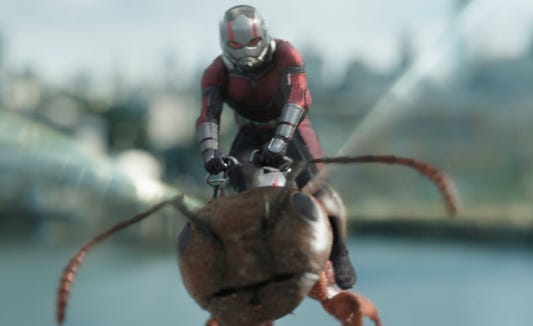 """Ant-Man and The Wasp"" is available for streaming on Netflix on Tuesday, Jan. 29."